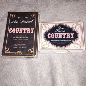 Too faced Country Eyeshadow palette